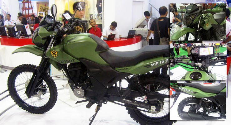 Modifikasi Honda Verza Army