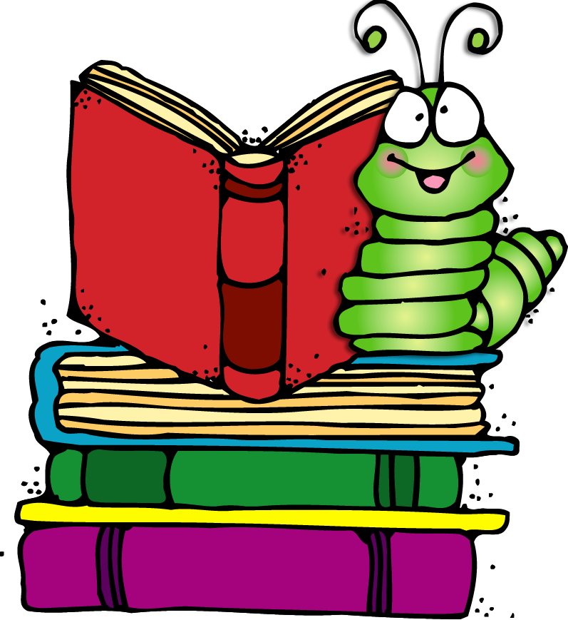 Reading Bookworm Clipart Reading Wednesday Clipart