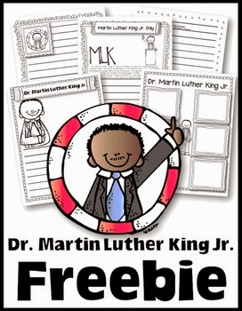 http://www.teacherspayteachers.com/Product/Freebie-to-Celebrate-Dr-Martin-Luther-King-Jr-Day-1060258