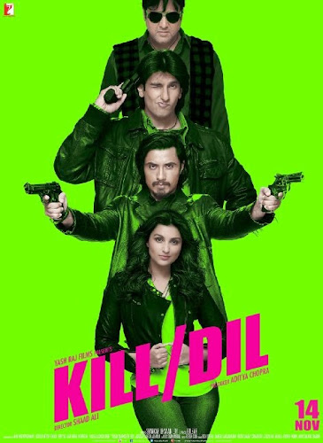 Kill Dil (2014) Movie Poster No. 2