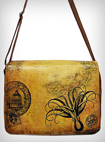 Everything Octopus Victorian Bag Purse And