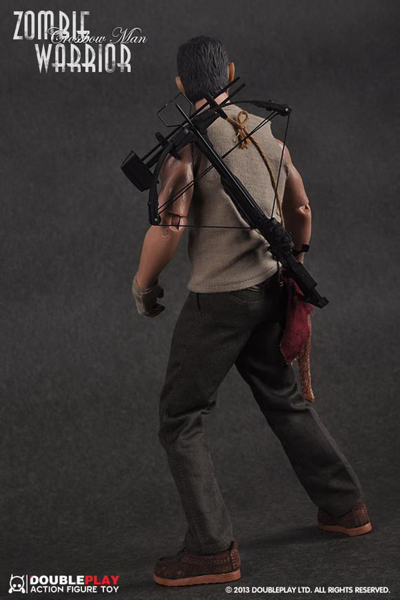 toyhaven doubleplay walking dead 16 zombie warrior