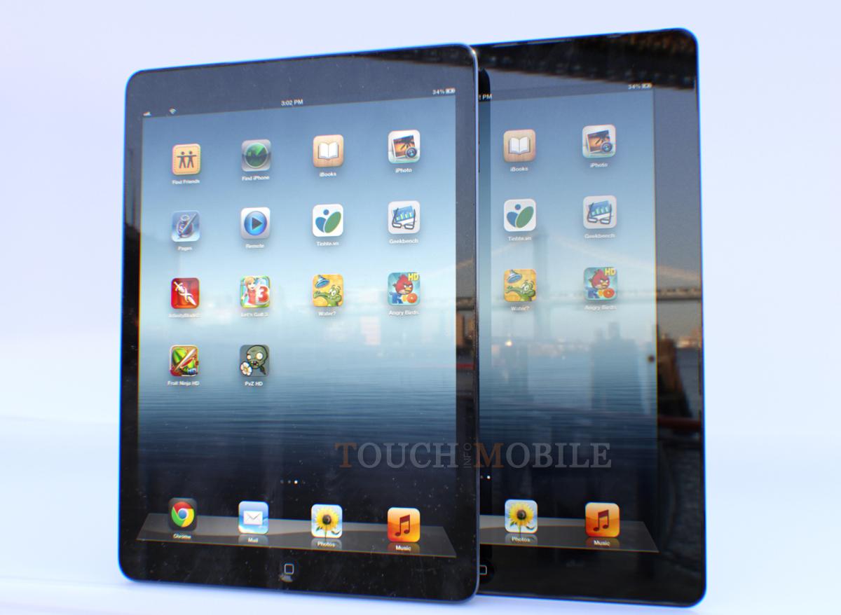 Comparando el iPad 4 con el iPad 5