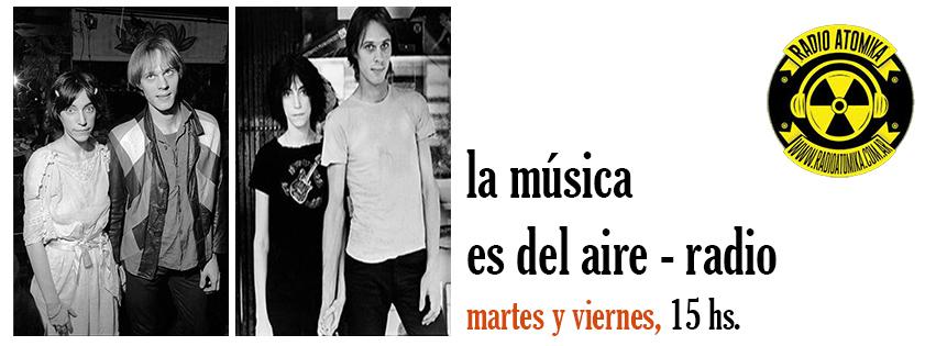 La música es del aire