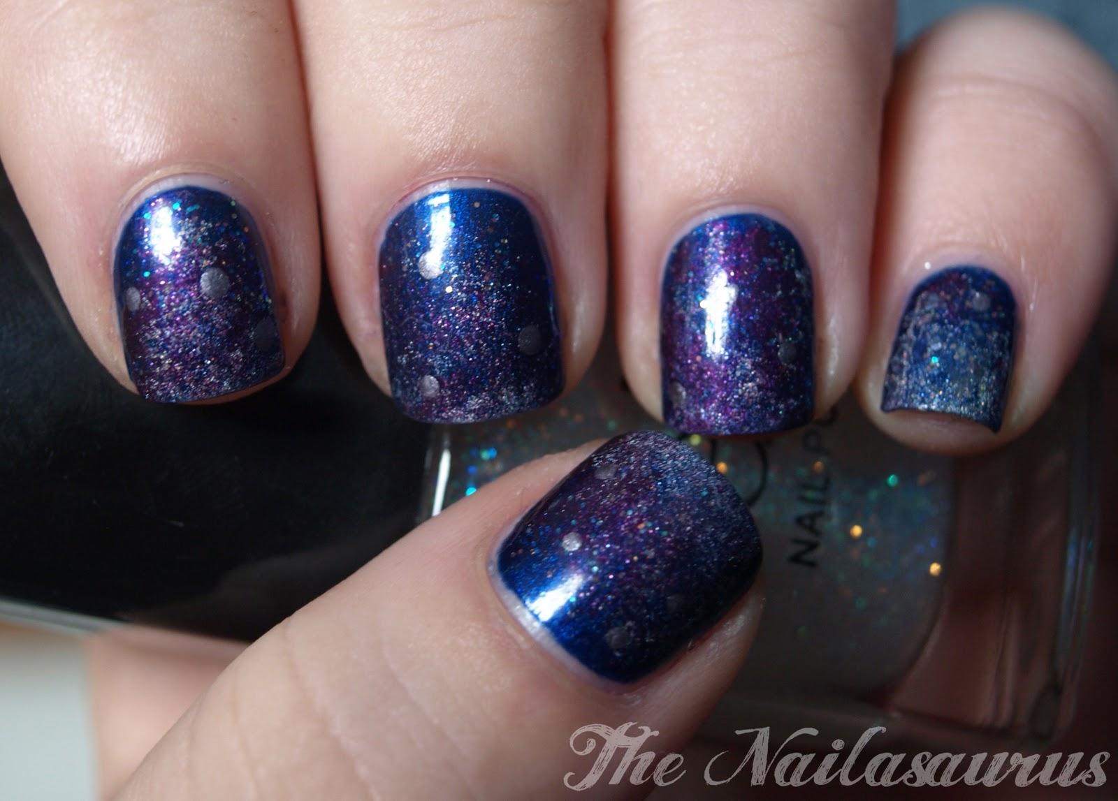 Nebula Nails - The Nailasaurus | UK Nail Art Blog