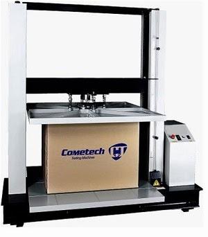 máy đo độ nén thùng carton qc-101m1 cometech