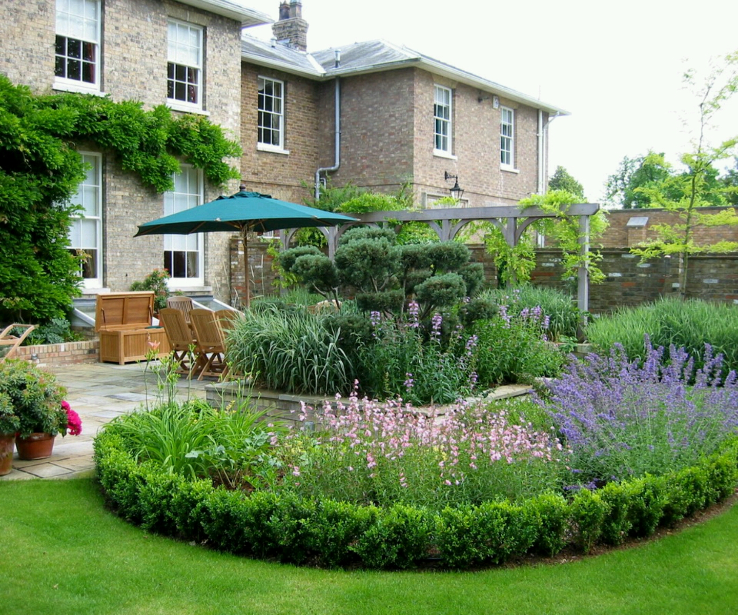 Home And Garden Design Ideas: Modern Garden Design Ideas Photograph