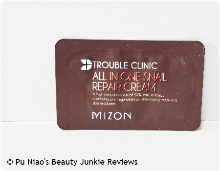 Mizon Trouble Clinic All In One Snail Repair Cream
