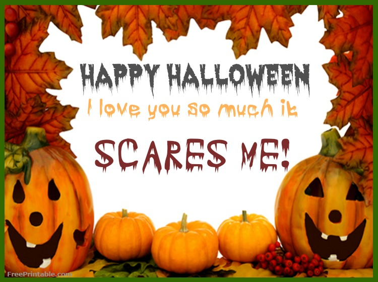 image regarding Free Printable Halloween Cards named Totally free Printable Components For Instructors Dad and mom And Small children