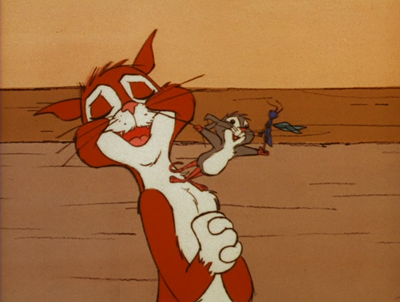 Harry the cat, Tucker the mouse, and Chester C. Cricket reunite in ...