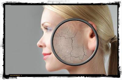 Hidratação da pele do rosto