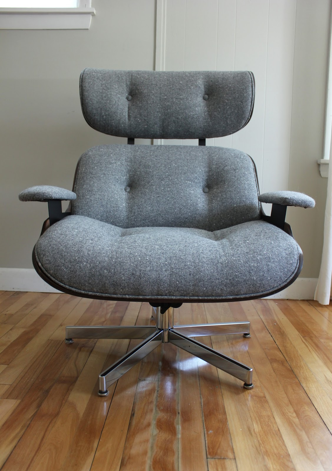 Plycraft Lounge Chair + Ottoman   SOLD