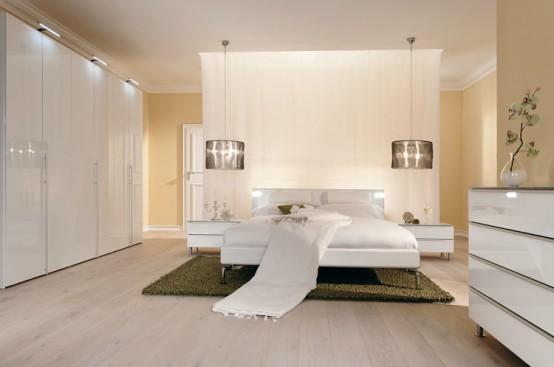 Beyaz+Yatak+Odas%25C4%25B1+Dizayn%25C4%25B1 Yatak Odası Tasarımları
