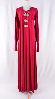 Rahim Simon Fashion Gallery: Jubah Lycra Plain