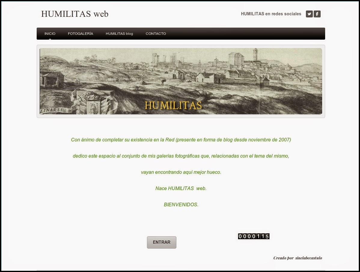 HUMILITAS web
