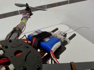 bateria 1000mAh transmisor