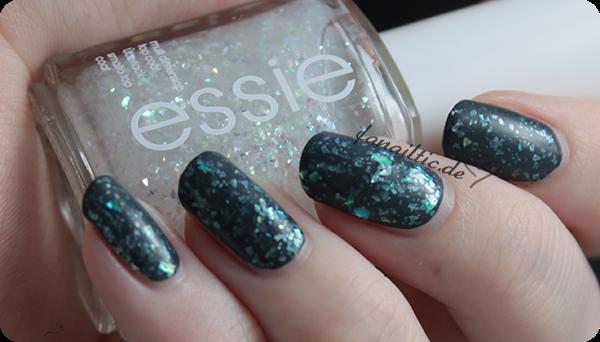 """essie """"sparkle on top"""""""
