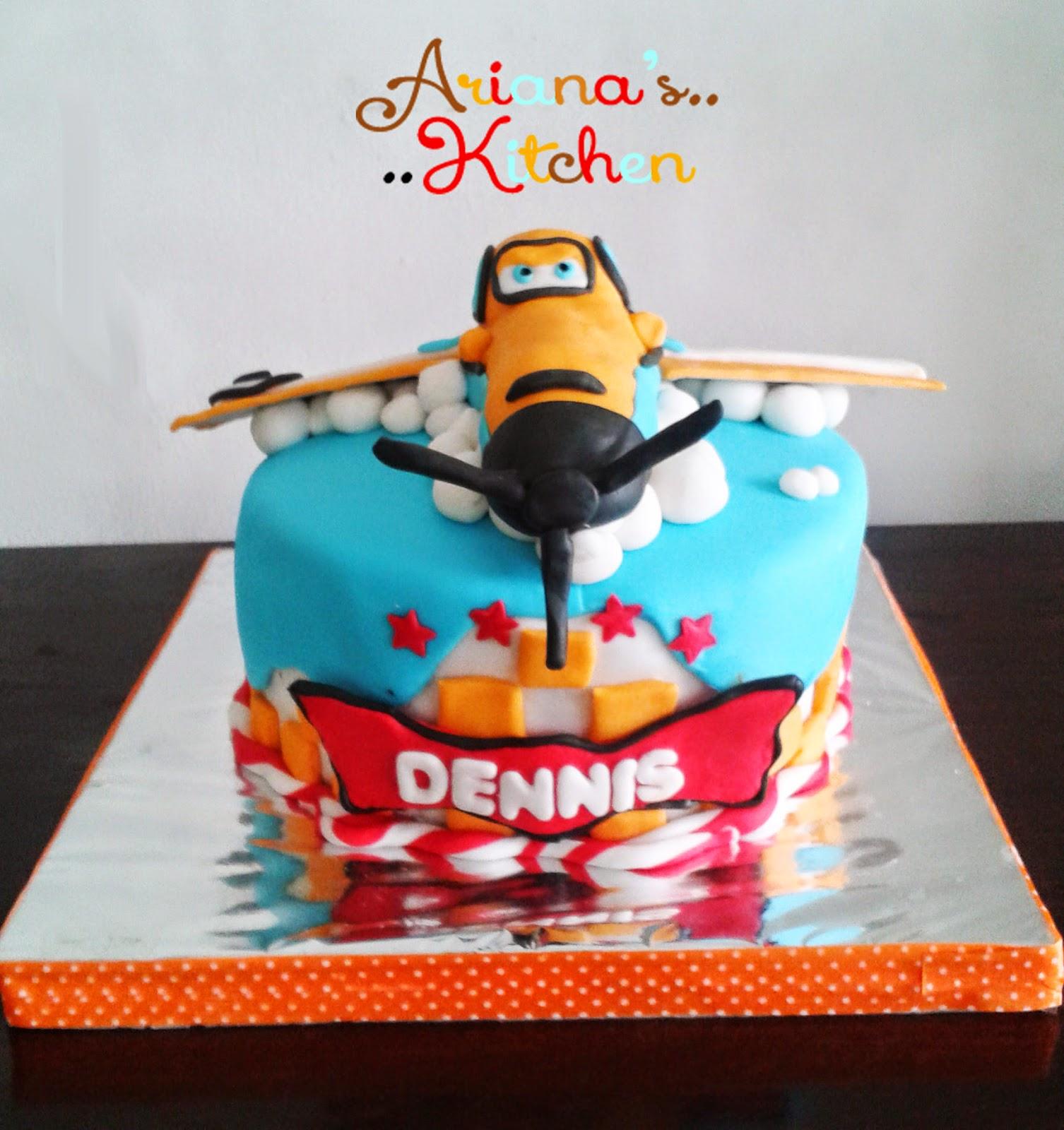 Arianas Kitchen Dusty Planes Cake
