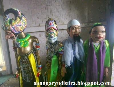 wayang golek bima, yudistira, kyai, mban : jasa pembuatan & pengrajin wayang golek
