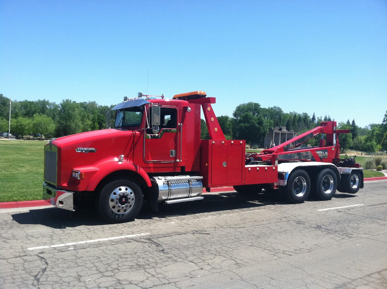 clayton 39 s towing sampson new tow truck. Black Bedroom Furniture Sets. Home Design Ideas