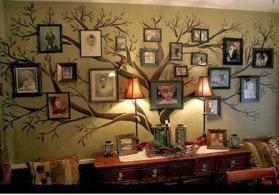 arbore cu tablouri