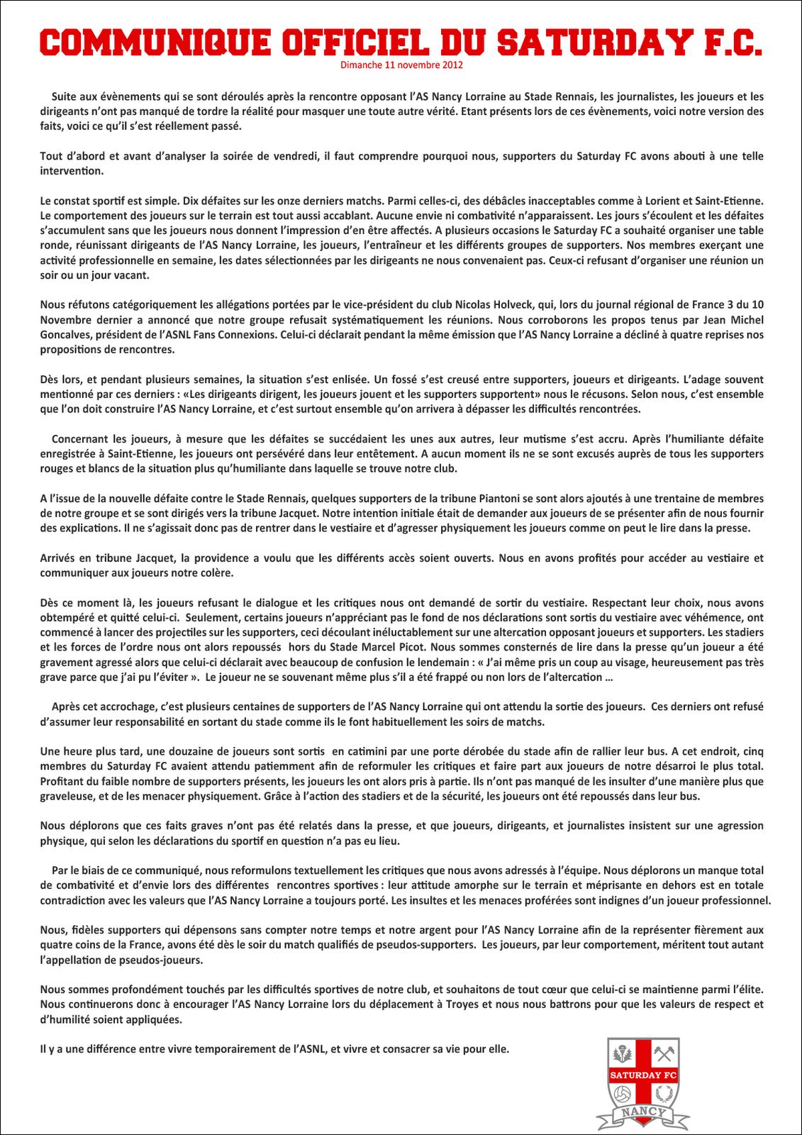 Le Mouvement en France . - Page 12 Communique-sfc-11-11-2012