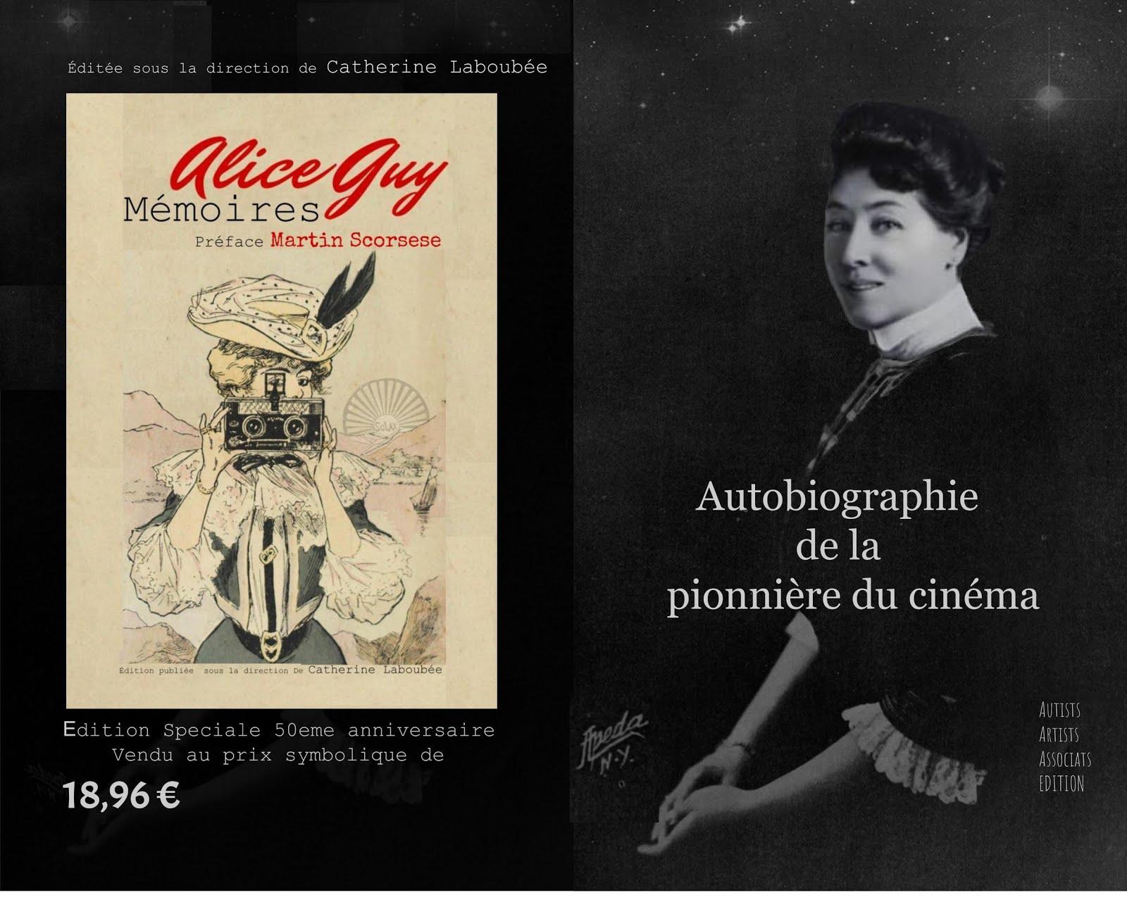 Mémoires Alice Guy 2018 au prix historique de 18.96 Edition Speciale 50eme anniversaire