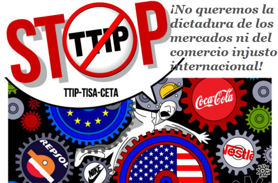 ¡No al TTIP!
