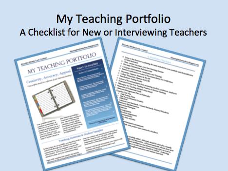 lesson plan checklist for teachers on