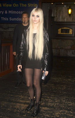 Taylor Momsen Little Black Dress