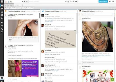 Hootsuite Instagram Dashboard Claudia Shop Ecommerce Comercio Exterior