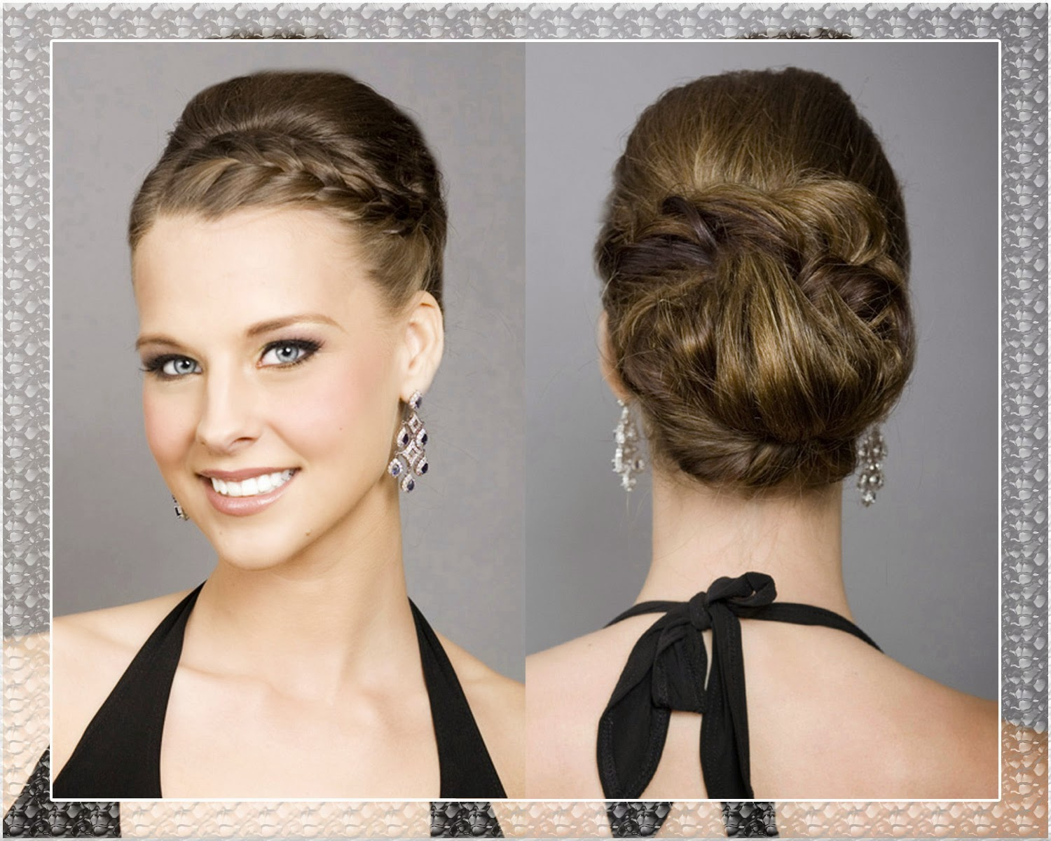 bridesmaid hairstyles for long hair updos