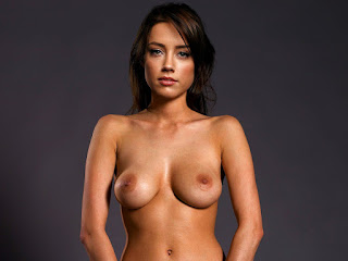 Amber Heard nude near chair