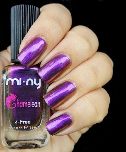 gold violet - Chameleon Mi-Ny 01