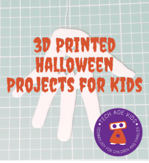 Halloween 3d printed things for kids