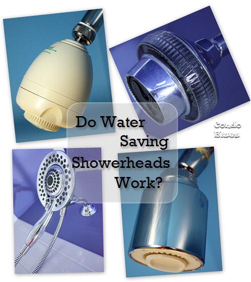 Do Water Saving Showerheads Work