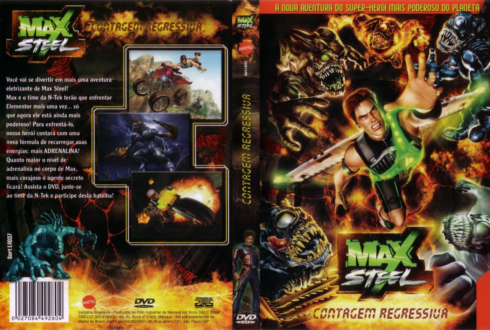 Max Steel Contagem Regressiva
