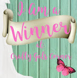 4-19-17 Winner, Crafty Gals Corner