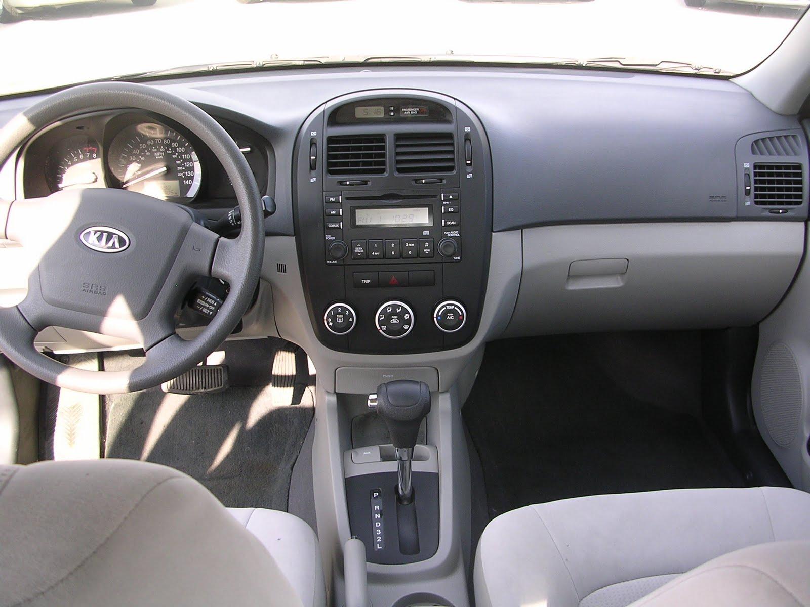NewCarTest Drive Via AOL Autos: Http://autos.aol.com/cars Kia Spectra  2009 EX__4dr_Sedan/expert Review/