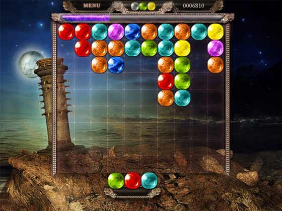 لعبة الاحجار الكريمة الملونة Match Gems Evolved