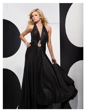 black-wedding-dress-gown-bridal-prom-dress