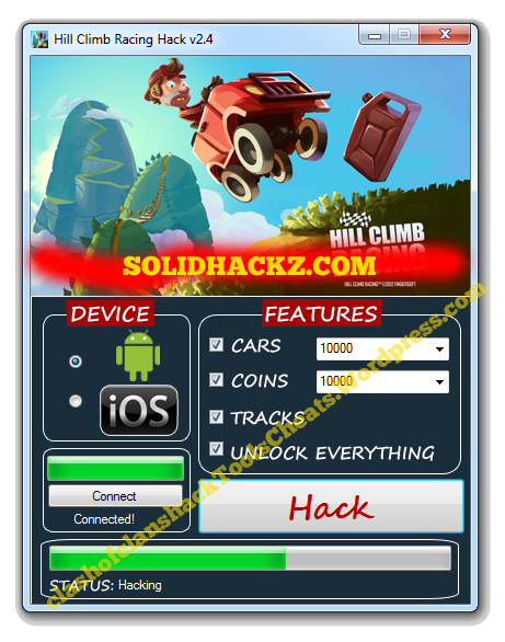 Hill Climb Racing Hack Tool