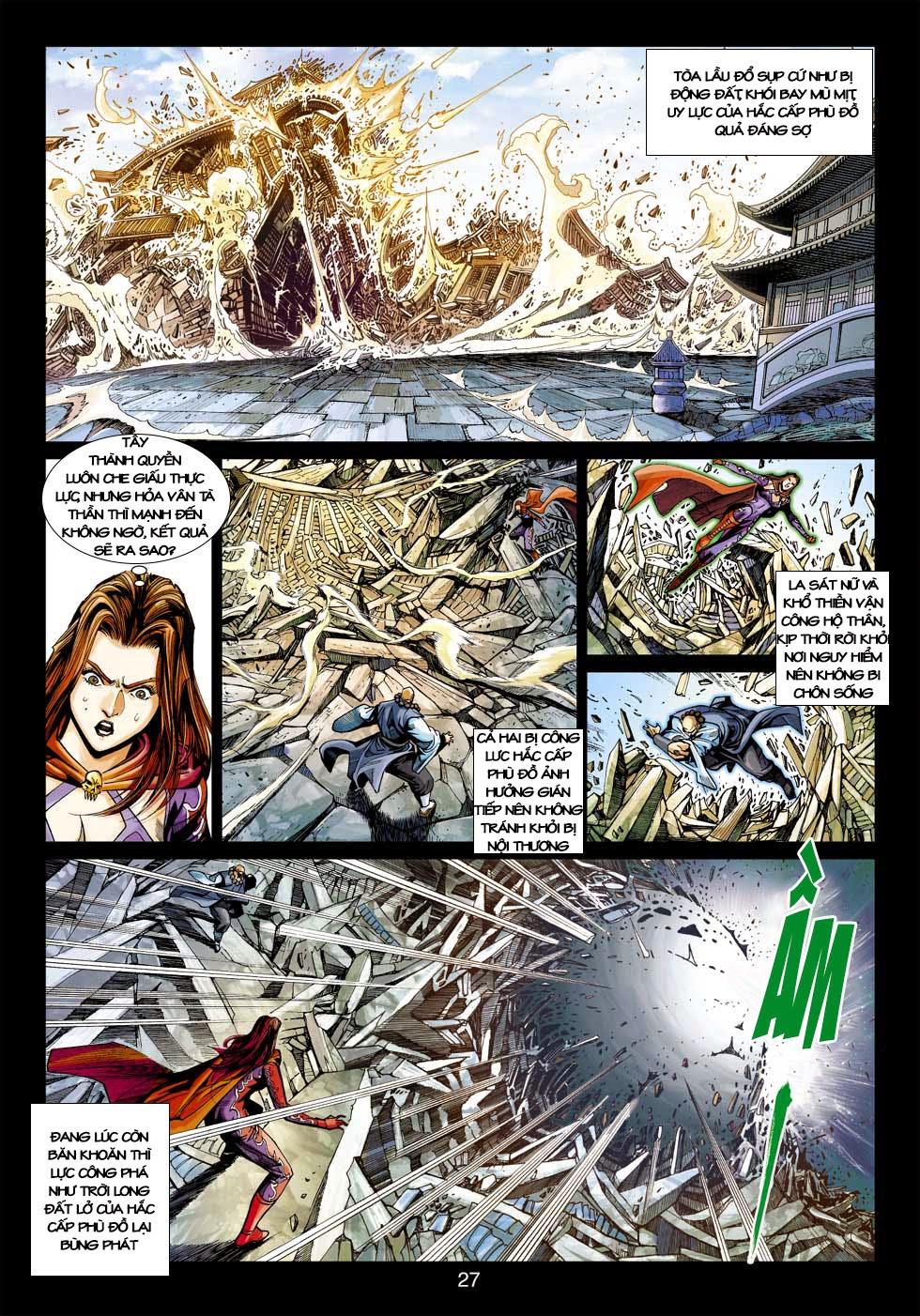 Tân Tác Long Hổ Môn chap 397 - Trang 26