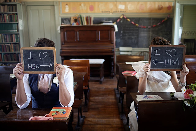 School House Wedding Inspiration Shoot