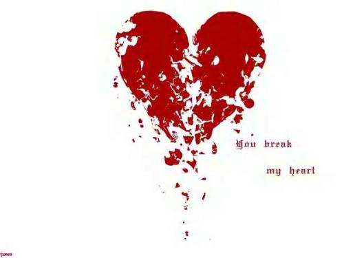 heart broken love. cute heartbroken love quotes.