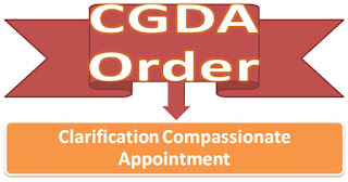 cgda+clarification+compassionate+appointment