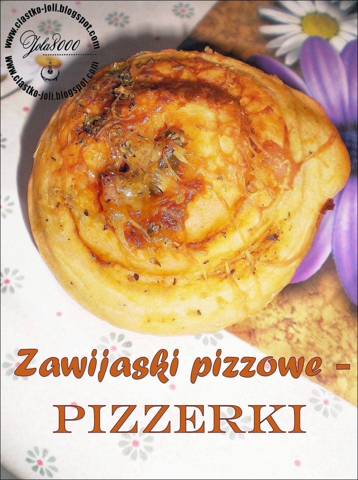 Zawijaski pizzowe czyli pizzerki