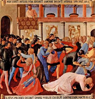 Fra Angelico, Matanza de los inocentes