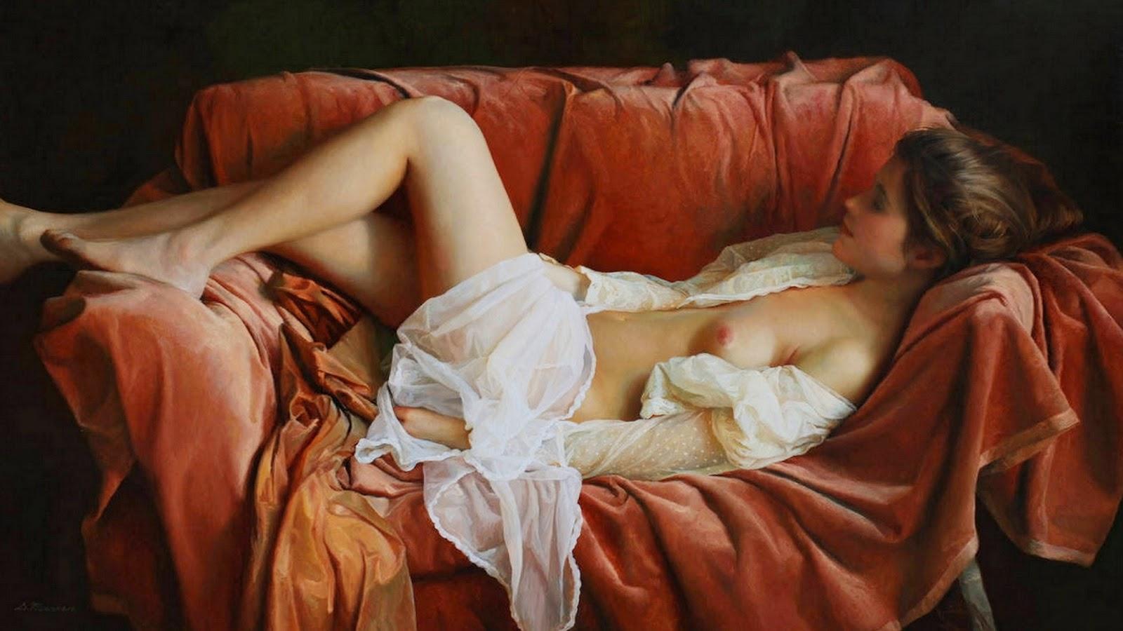 Pinturas Humanas Al Leo Sergemarshennikov Pintor De Baskortost N
