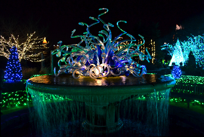 Wanderlust atlanta one last look at garden lights for Botanical gardens atlanta lights